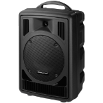 Monacor TXA-800CD Public Address (PA) system 50 W Freestanding Public Address (PA) system Black