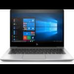 """HP EliteBook 830 G5 Notebook 13.3"""" 1920 x 1080 pixels 8th gen Intel® Core™ i7 8 GB DDR4-SDRAM 256 GB SSD Wi-Fi 5 (802.11ac) Windows 10 Pro Silver"""