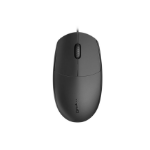 RAPOO N100 Wired USB Optical 1600DPI Mouse Black - No Driver Required/ Designed for Notebook Laptop Deskto