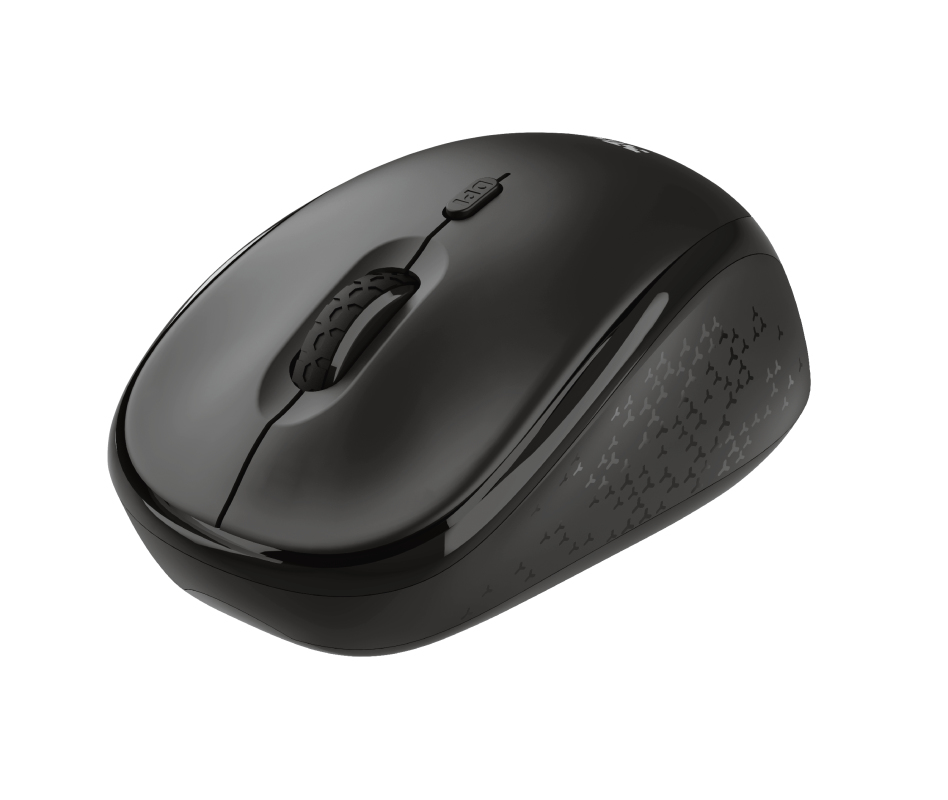 Trust TM-200 mouse RF Wireless Optical 1600 DPI Ambidextrous
