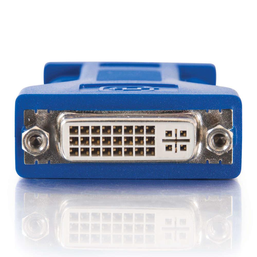 C2G DVI-A / HD15 VGA Adapter HD15 M Azul