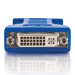 C2G DVI-A / HD15 VGA Adapter HD15 M Azul