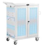 Tripp Lite CSC32ACWHG portable device management cart/cabinet White