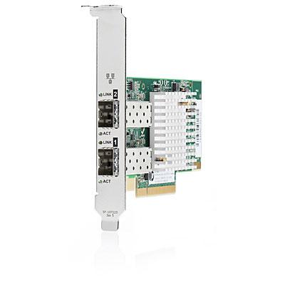 Hewlett Packard Enterprise 10Gb 2x 570SFP+ Internal Fiber 10000Mbit/s networking card