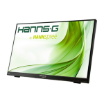 "Hannspree Hanns.G HT225HPB 21.5"" 1920 x 1080pixels Multi-touch Black touch screen monitor"