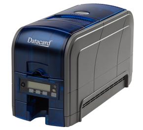 DataCard SD160 Dye-sublimation/Resin Thermal transfer Colour Black,Blue plastic card printer