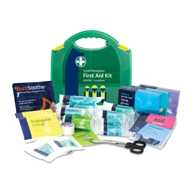 Reliance Medical Reliance Small First Aid Kit in Integral Aura Box BS8599-1