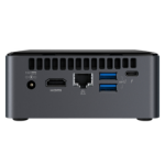 Intel NUC BOXNUC8I7BEKQA2 PC's/werkstation Intel® 8de generatie Core™ i7 i7-8559U 16 GB DDR4-SDRAM 512 GB SSD mini PC Zwart Windows 10 Home