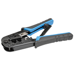 Tripp Lite RJ11/RJ12/RJ45 Crimping Tool with Cable Stripper