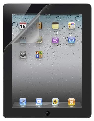 Belkin Screen Guard Anti-Smudge Overlay iPad 1 pc(s)
