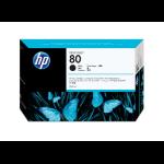 HP C4871A (80) Ink cartridge black, 4.4K pages, 350ml