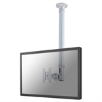 "Newstar FPMA-C100SILVER 30"" Silver flat panel ceiling mount"