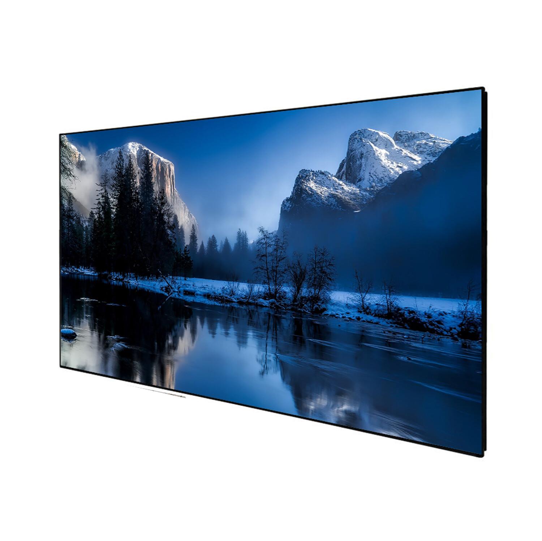 "Celexon DELUXX Cinema - SlimFrame 203cm x 114cm - 92"" Diag - DARKVISION High Contrast Fixed frame Screen"