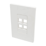 Tripp Lite N080-104 wall plate/switch cover White