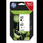 HP 62 Original Black,Cyan,Magenta,Yellow Multipack