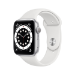 Apple Watch Series 6 OLED 44 mm Plata GPS (satélite)