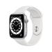 Apple Watch Series 6 OLED 44 mm Plata GPS (satélite)