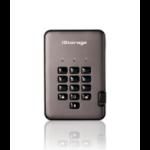 iStorage diskAshur PRO2 external hard drive 2000 GB Grey