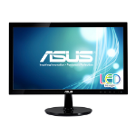 "ASUS VS207T-P 19.5"" HD Black computer monitor LED display"