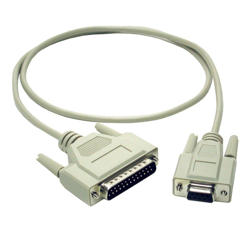 Modem Cable Db9f To Db25m 2m