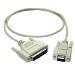 C2G 2m DB9 F/DB25 M Cable