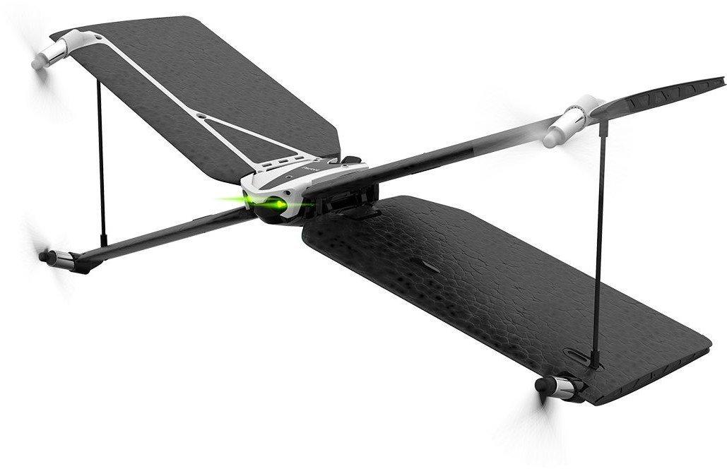 Parrot Swing + Flypad 4rotors Mini-drone 550mAh Black, Silver camera drone