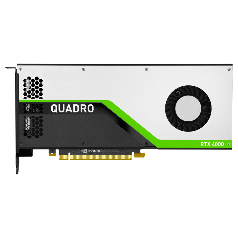 PNY VCQRTX4000-PB graphics card NVIDIA Quadro RTX 4000 8 GB GDDR6