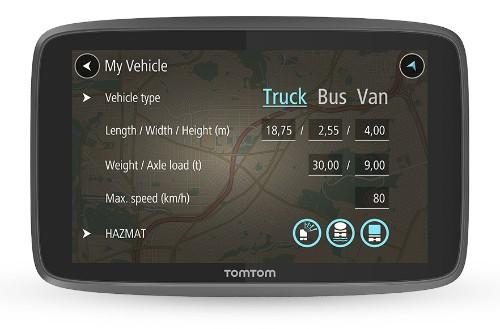 TomTom GO PROFESSIONAL 6250 navigator