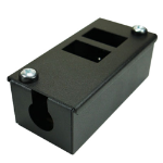Cablenet 2 Way POD Box Horizontal Row LJ6c 56mm Deep 25mm Entry