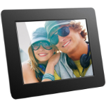 "Aluratek ADPF08SF digital photo frame 8"" Black"