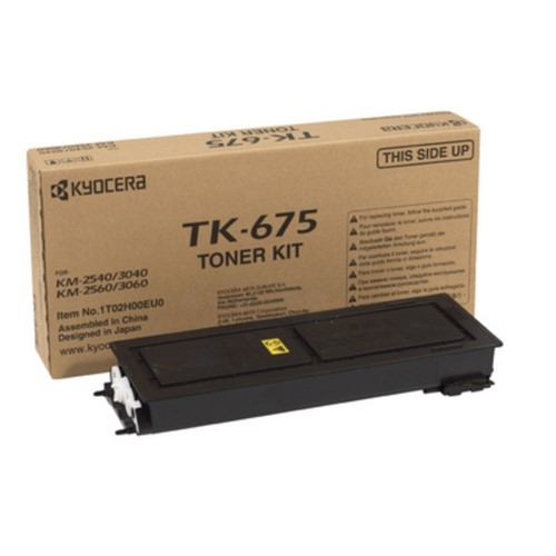 KYOCERA 1T02H00EU0 (TK-675) Toner black, 20K pages @ 6% coverage