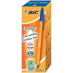 BIC Orange Fine Stick ballpoint pen Fine Blue 20pc(s)