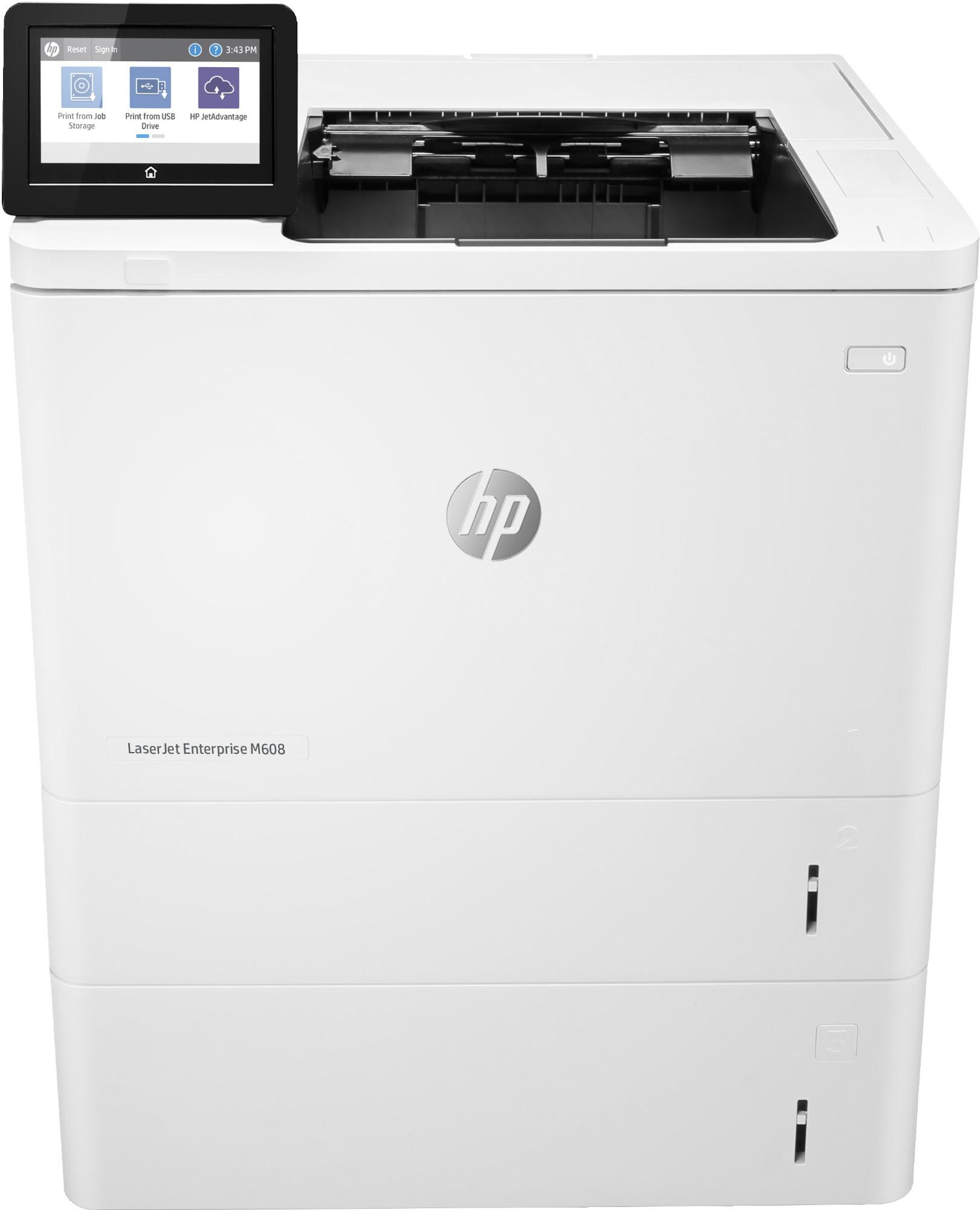 HP LaserJet Enterprise M608x 1200 x 1200 DPI A4 Wifi