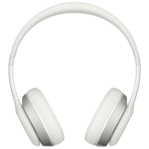 Apple Beats Solo 2  - White, On-Ear Headphones, Official by Apple (MH8X2ZM/A)