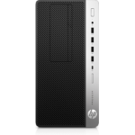 HP ProDesk 600 G3 3.4GHz i5-7500 Micro Tower 7th gen Intel® Core™ i5 Black, Silver PC