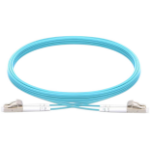 Vision TC 3MFBR LCLC fibre optic cable 3 m LC LSZH OM3 Blue