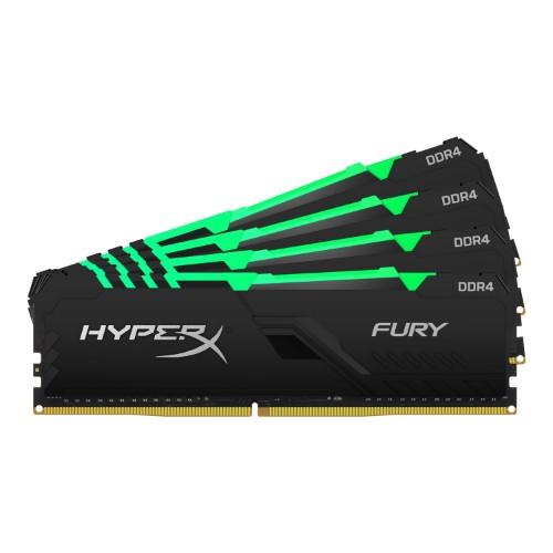 HyperX FURY HX436C17FB3AK4/32 memory module 32 GB 4 x 8 GB DDR4 3600 MHz