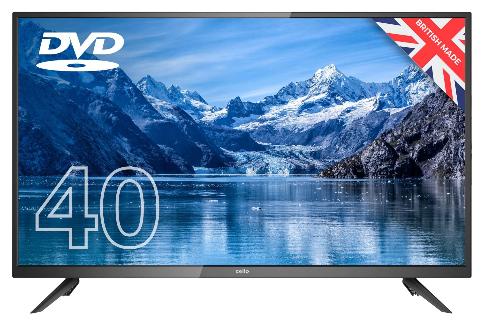 """Cello C4020F TV 101.6 cm (40"""") Full HD Black"""