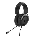 ASUS TUF Gaming H3 7.1 Gaming Headset, 3.5mm Jack, Boom Mic, Surround Sound, Deep Bass, Fast-cooling Ear
