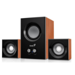 Genius SW-2.1 375 2.1channels 12W Wood speaker set