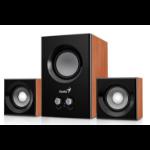 Genius SW-2.1 375 2.1channels 12W Wood speaker set