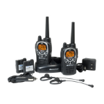 Midland GXT1000VP4 two-way radio 50 channels 462.550 - 467.7125 MHz