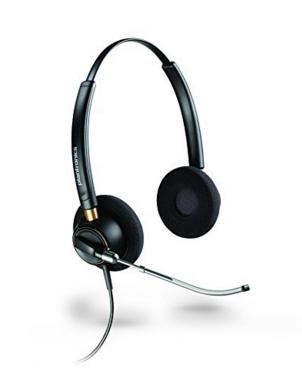 Plantronics Encorepro 520V Binaural Head-band Black headset