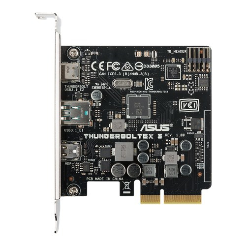 ASUS ThunderboltEX 3 interface cards/adapter Thunderbolt 3,Thunderbolt Internal