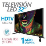 GHIA TELEVISION LED GHIA 32 PULG HD 720P 3 HDMI/ USB/ VGA/PC 60 HZ dir