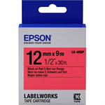 Epson C53S654007 (LK-4RBP) DirectLabel-etikettes, 12mm x 9m