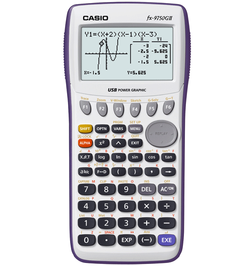 Graphic Calculator (fx-9750gii-s-uh)