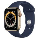 Apple Watch Series 6 44 mm OLED 4G Gold GPS (satellite)