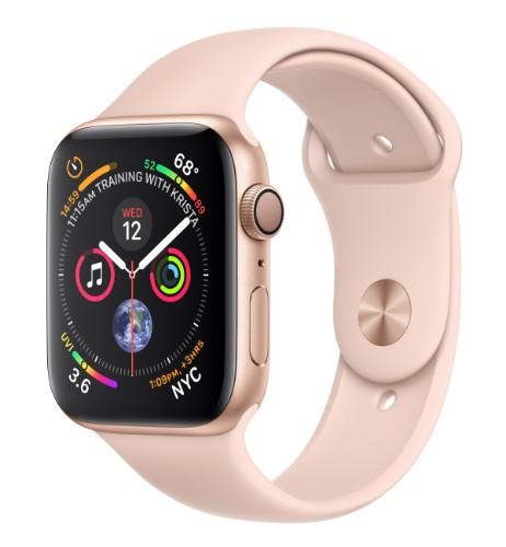Apple Watch Series 4 smartwatch Gold OLED GPS (satellite)