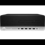 HP ProDesk 600 G5 9th gen Intel® Core™ i5 i5-9500 8 GB DDR4-SDRAM 256 GB SSD SFF Black,Silver PC Windows 10 Pro